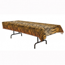 Mantel de plástico tigre