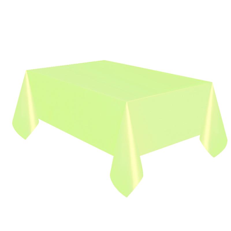 Mantel de Plástico Verde Pastel