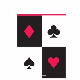 Mantel plástico Poker