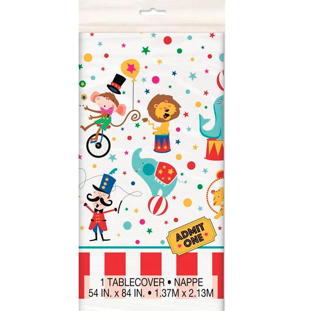 Mantel Plástico Circo Modelo B