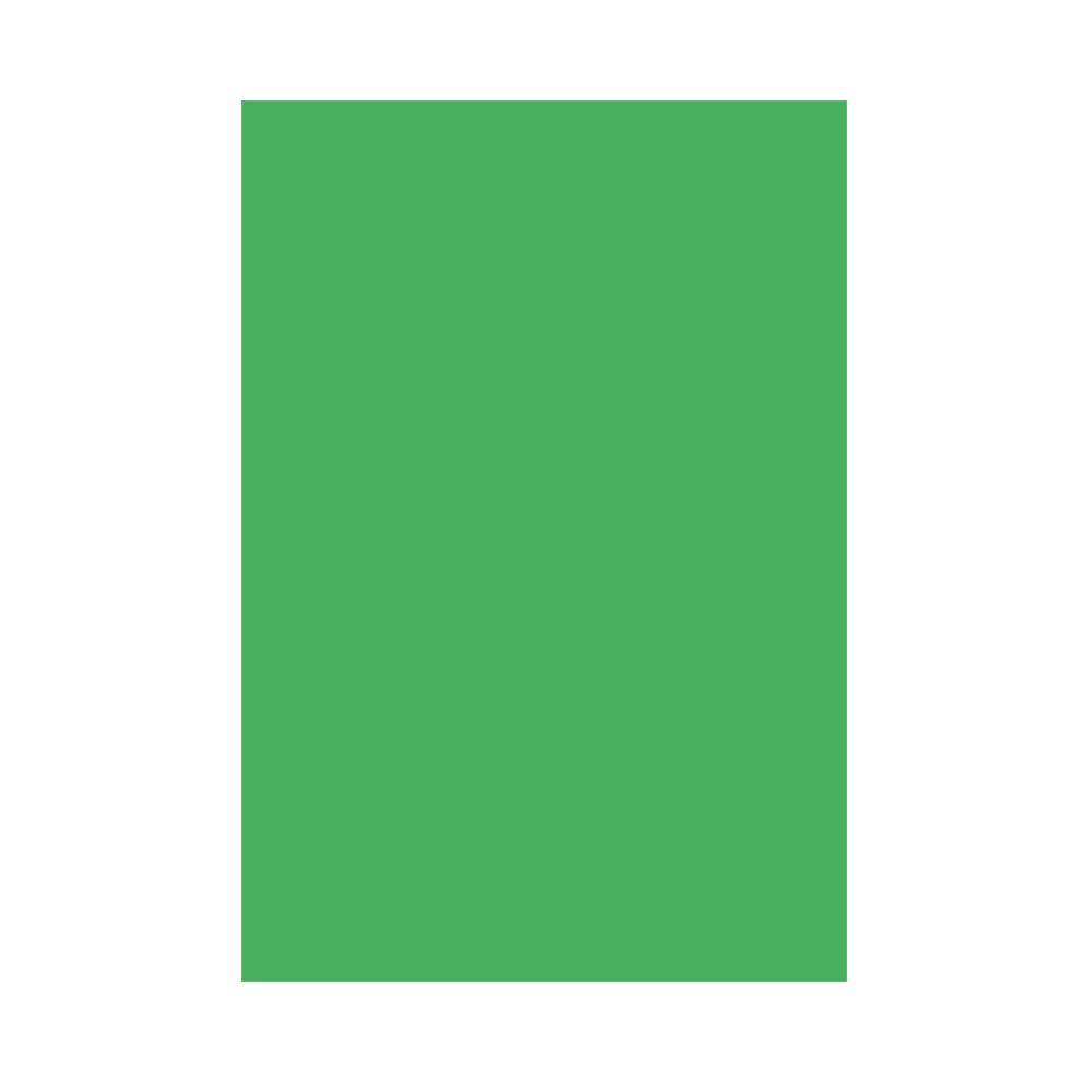 Mantel de papel de color verde