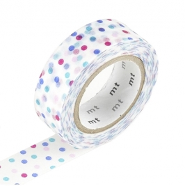 Masking Tape 1P Deco Drop Pink