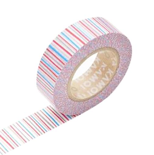 Masking Tape 1P Deco Shima Aka