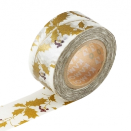 Masking Tape 1P Holly Gold