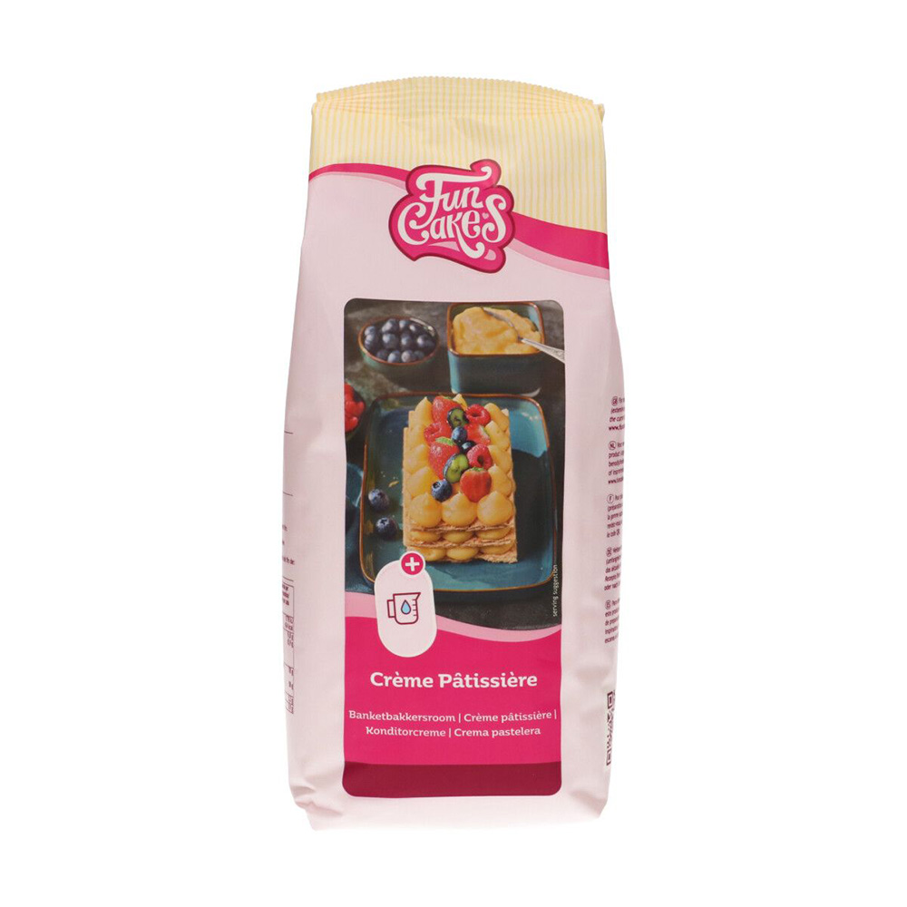 Mezcla para crema pastelera Funcakes 1Kg