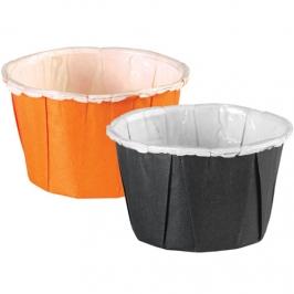 Pack 24 Mini Cápsulas Naranjas y Negras