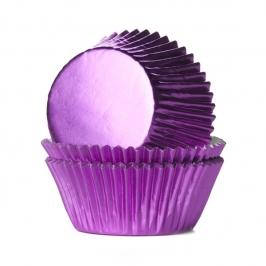 Mini cápsulas cupcakes Pink Foil
