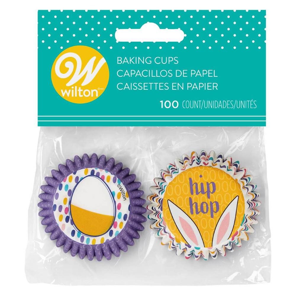 Mini Cápsulas para Cupcakes Pascua Hip Hop