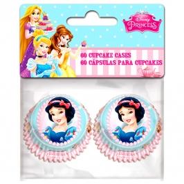 Mini Cápsulas para Cupcakes Princesas