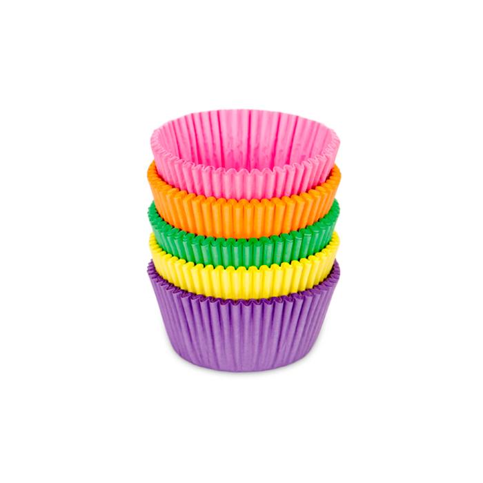 Mini Cápsulas para Cupcakes Varios Colores