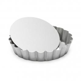 Mini Molde Redondo Desmontable para Tartas y Quiché 10 cm