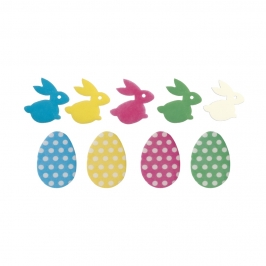 Decoraciones de Oblea Surtido Pascua 200 ud