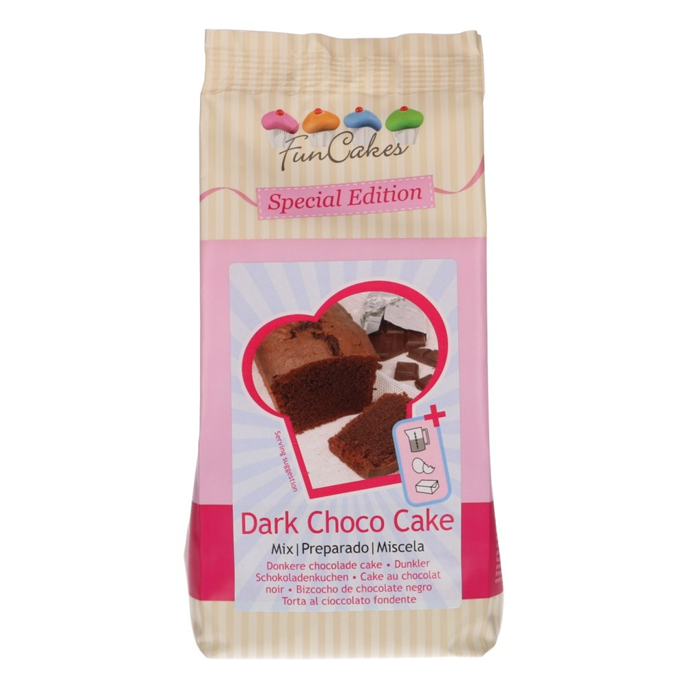 Mix para Bizcocho de Chocolate Negro 400 gr