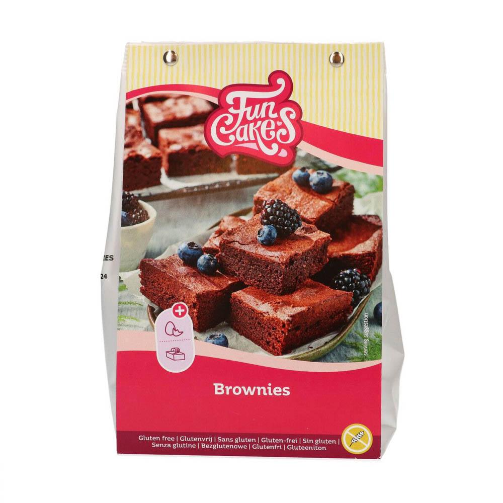Mix para Brownies Sin Glúten 500g