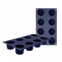 Molde de silicona Bordelaise 8 cavidades