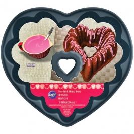 Molde Acanalado Corazón 20 cm