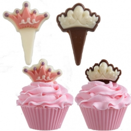 Molde para Chocolate Princess Picks