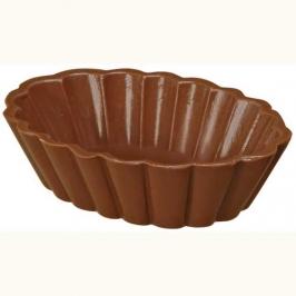 Molde para formar conchas de chocolate