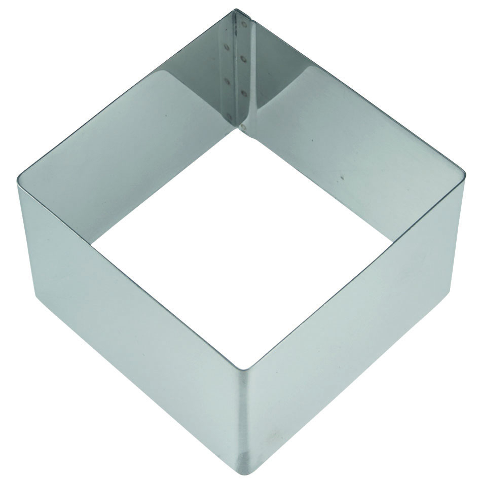 Molde cuadrado para emplatar 6,5cm