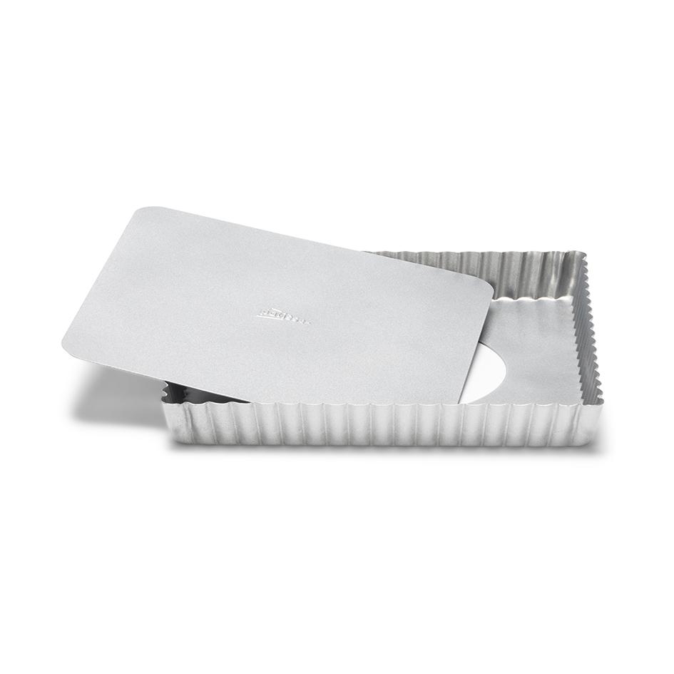 Molde Cuadrado para Tartas y Quiché 21 cm