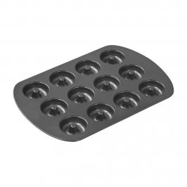 Molde de Acero para 12 Mini Donuts