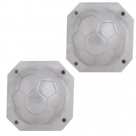 Molde Policarbonato Balón de Fútbol 3D