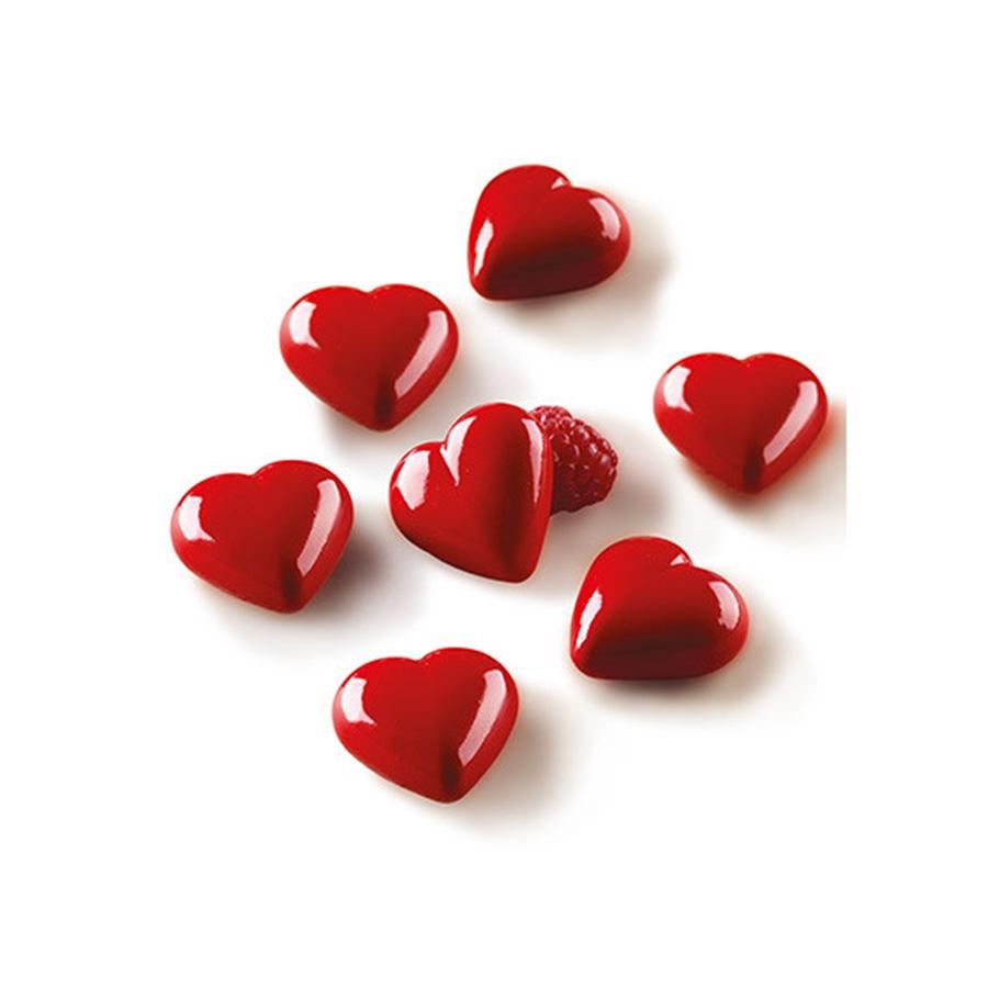 Molde de silicona Chocolate Hearts