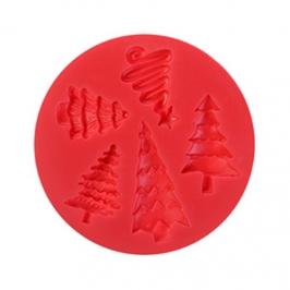 Molde de Silicona Christmas Trees