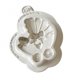 Molde de Silicona Cochecito de Bebé