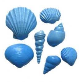 Molde de silicona Conchas