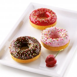 Molde de Silicona Donuts 6 Cavidades