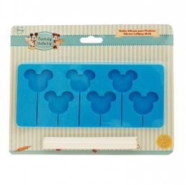 Molde de silicona piruletas de Mickey