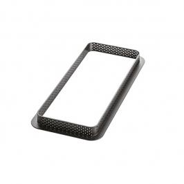 Molde Microperforado Tarte Ring Rectangular 26,5 x 10,5 cm