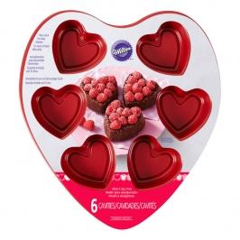 Molde minipasteles Corazón
