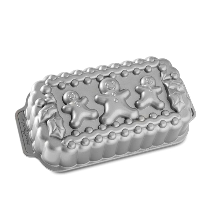 Molde Nordic Ware Gingerbread Family Loaf Pan
