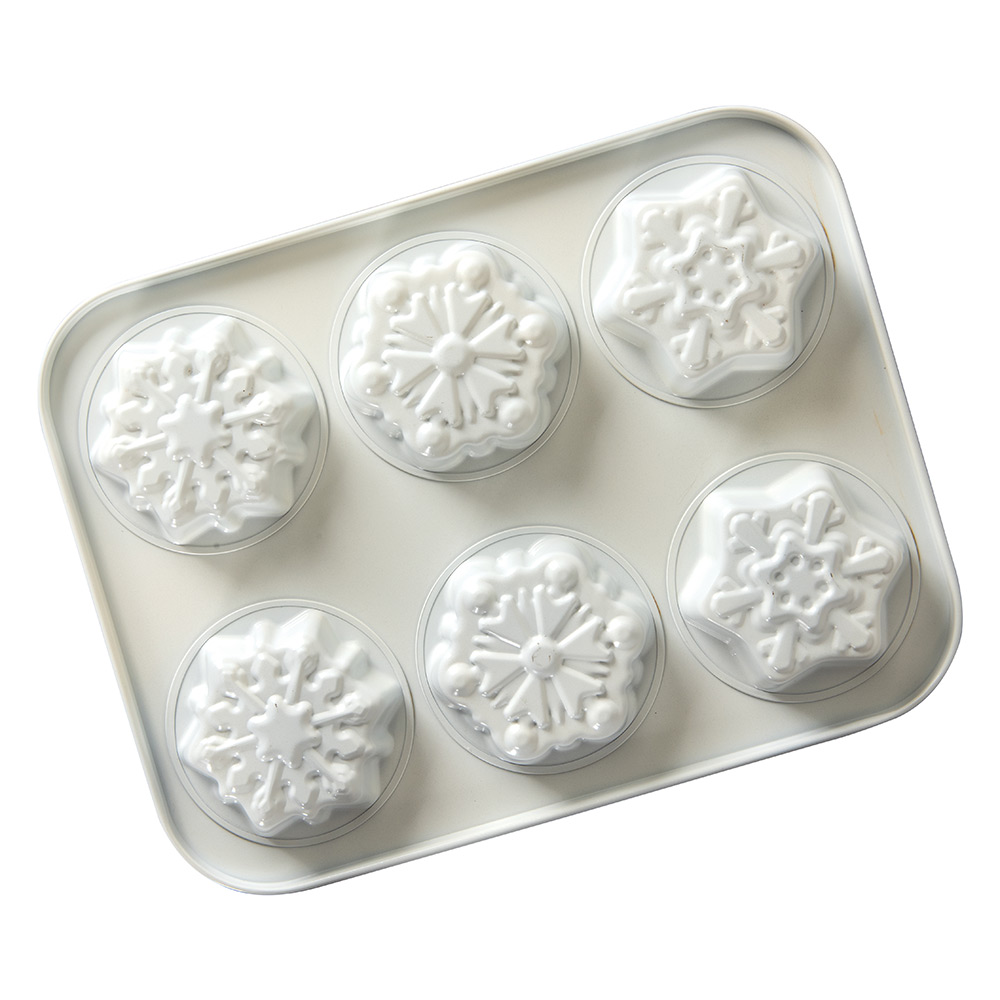 Molde Nordic Ware Snowy Day Mini Cake Pan Frozen 2