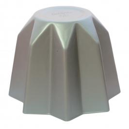 Molde pandoro en aluminio anodizado