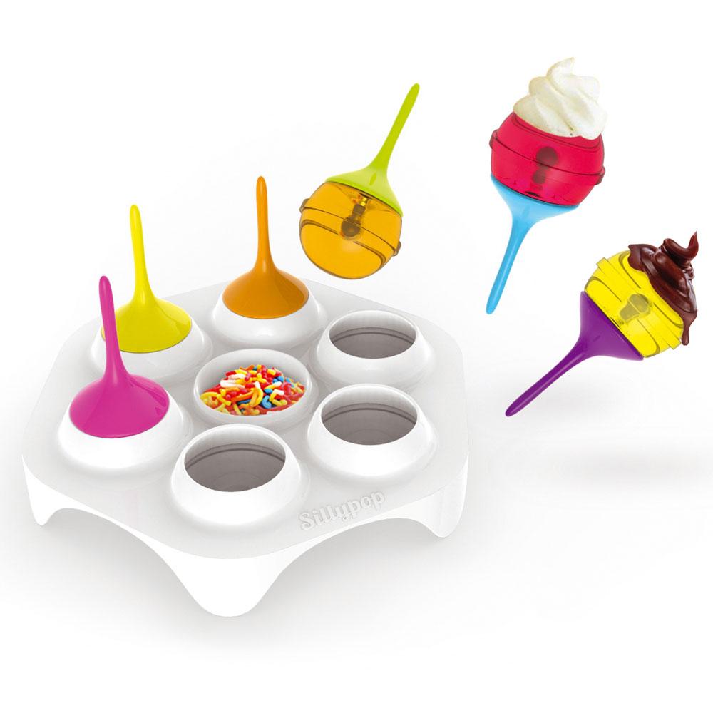 Molde para 6 helados tipo chupachus