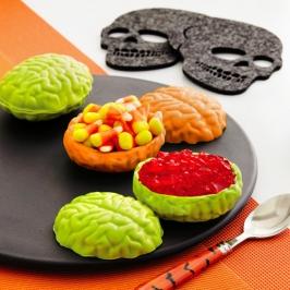 Molde para Chocolate Cerebros 3D