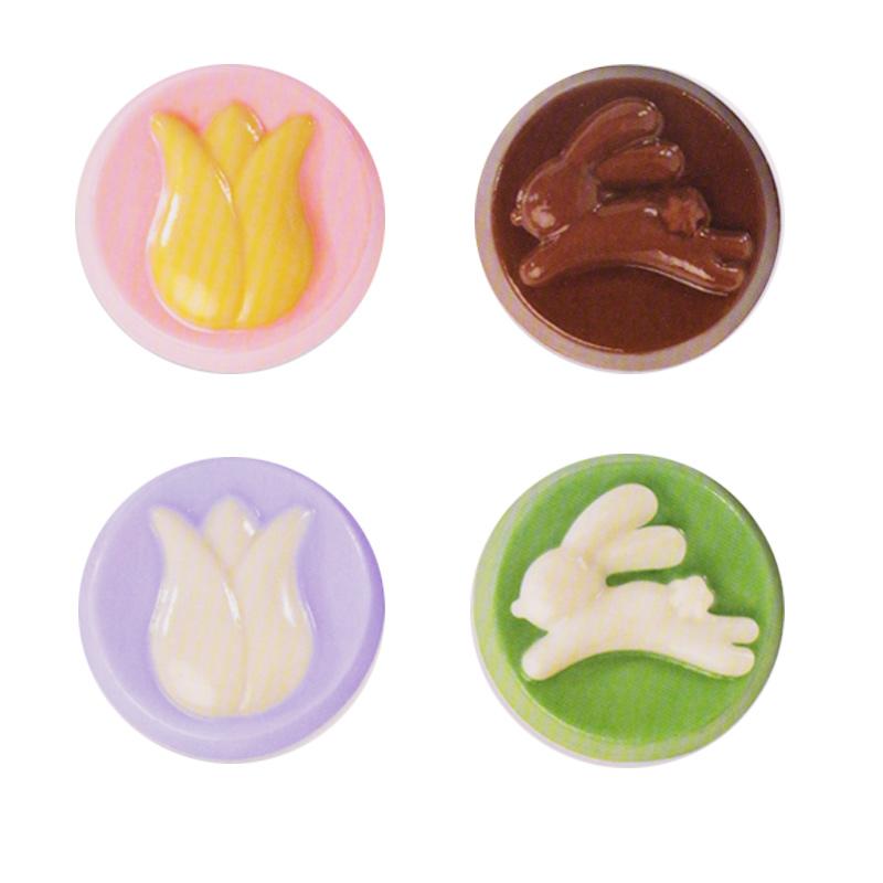 Molde para chocolate Chocolatinas Pascua