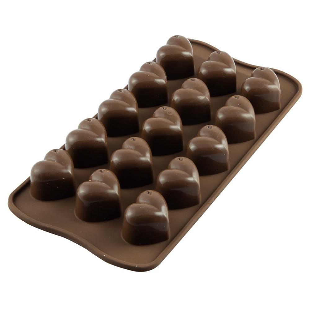 Molde para chocolate Corazón