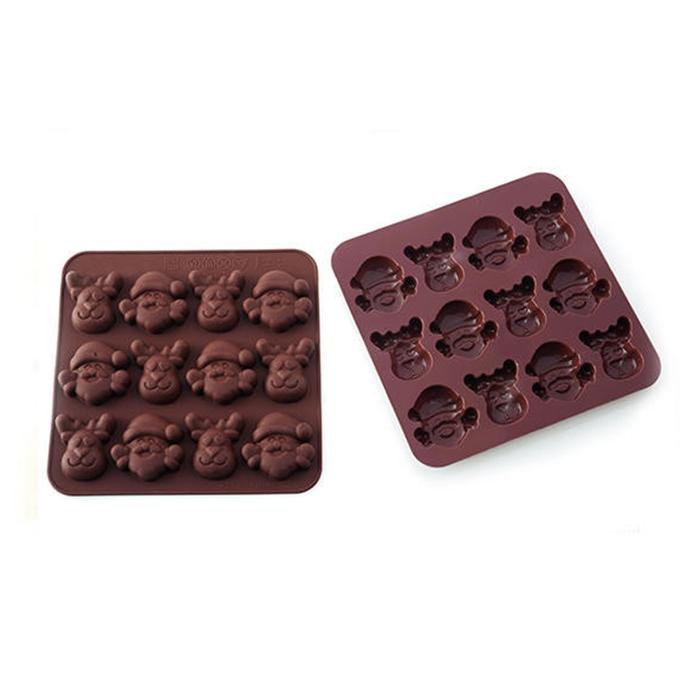 Molde para Chocolate Dulce Navidad