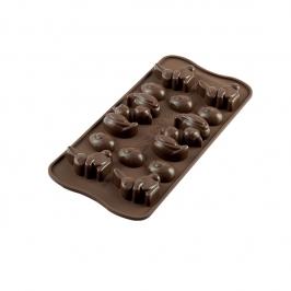 Molde para Chocolate Felices Pascuas