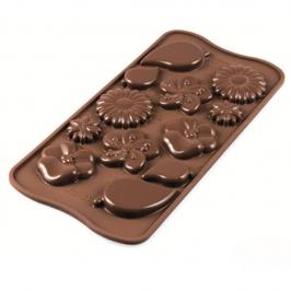 Molde para Chocolate Garden