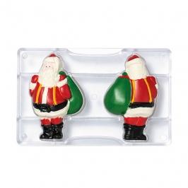 Molde para Chocolate Papá Noel 10 cm