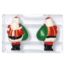 Molde para Chocolate Papá Noel 15 cm