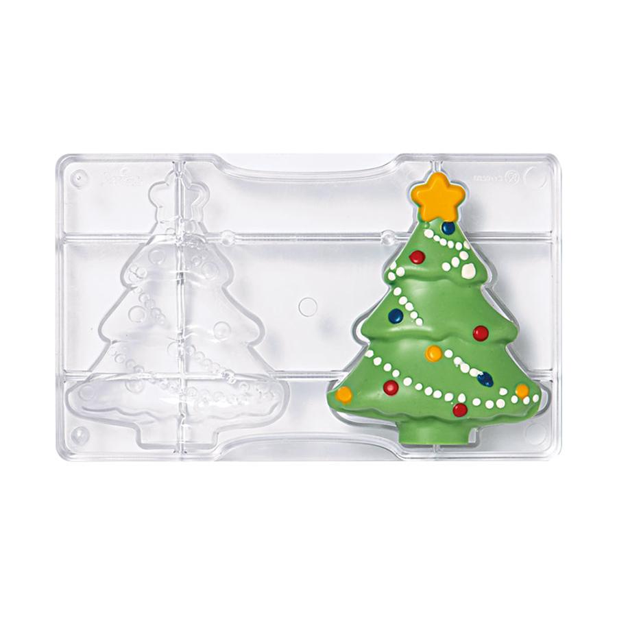 Molde para Chocolate Árbol de Navidad 10 cm