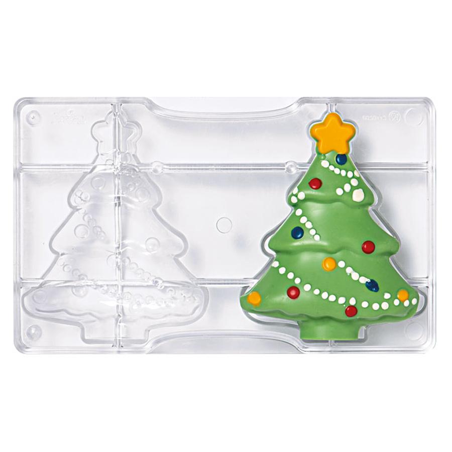 Molde para Chocolate Árbol de Navidad 15 cm