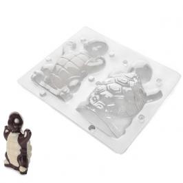 Molde para chocolate tortuga 3D