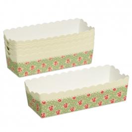 Pack de 6 Mini Moldes Snack Loaf